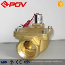 válvula de solenoide electromagnética de pulso rectangular de conexión de rosca de alta calidad
