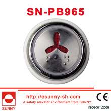 Lift Braille Push Button (SN-PB965)