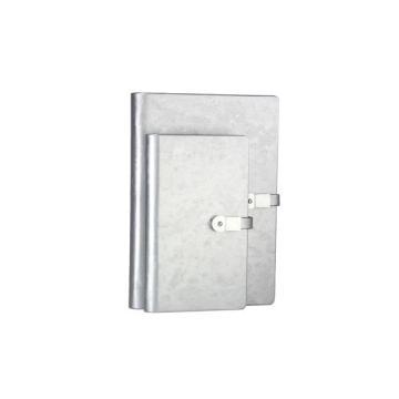 Carnet de notes multifonctionnel en papier à feuilles mobiles PU Pull-up