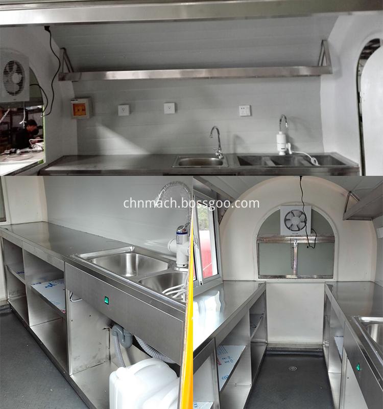 food trailer inner