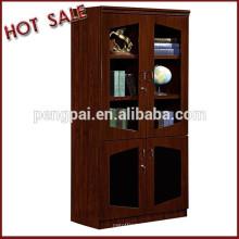 2015 Beautiful Design Glass Door Office Furniture Bookcase