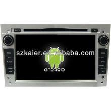 Reproductor de DVD del coche de 4.2 versión Android System para Opel Astra con GPS, Bluetooth, 3G, iPod, juegos, zona dual, control del volante