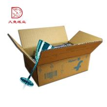 Différents types pas cher usine recyclable éco courier boîte en papier
