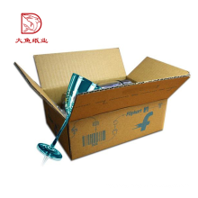 Different types cheap factory recyclable eco courier paper box