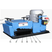 Copper Scrap Cable Stripper , Waste Electrical Cable Stripping Machine