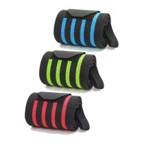 Custom Powerlifting Gym Weight Lifting Straps Resistance Band Bracer Protection Wrist Wraps