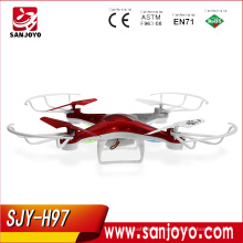 JJRC H97 480P Camera RC Quadcopter 4CH 2.4G 6-axis Gyro Drone One Key Return LED Night Flight And Brushed Moter Drone