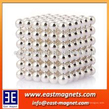 Nicuni plated Neodymium ball magnet