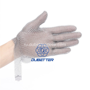 Meat+Processing+Stainless+Steel+Mesh+Gloves