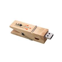 OEM Holz Memory Stick Clip USB-Stick
