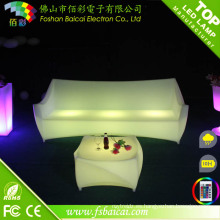 Color cambiante LED Sofá (BCR-153S)