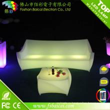 Изменение цвета светодиодные диван (БЦР-153S)