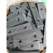 Gray Plastic Nylon PA66 UHWPE Block