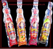 disposable plastic bag for juice packaging