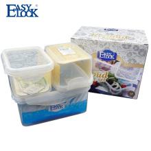 Easylock Atacado recipiente de armazenamento de alimentos de plástico