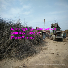 Diesel Engine Wood Chipper Stump Shredder Price Branch Crusher Machine Made in China
