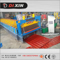 China Fabricante Dixin Color / Galvanized Steel Roofing Sheet Roll formando máquina