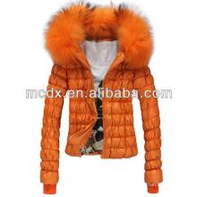 white fashion brand ladies winter wear jackets