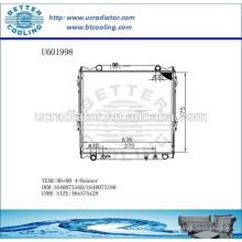 Kühler für TOYOTA 4-RUNNER 96-00 1640075160/1640075180 Hersteller und Direktverkauf