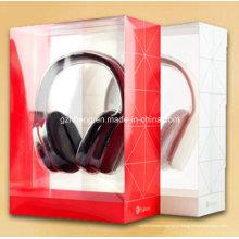 Novo design impresso pacote de plástico para fone de ouvido (caixa de pvc)