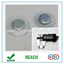 round PVC magnet for t-shirt