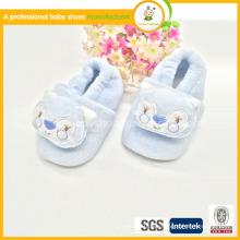 2015wholesale niños primero caminando patrón animal algodón de alta calidad zapatos de bebé