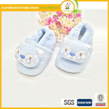 2015wholesale kids first walking animal pattern cotton high quality baby shoes