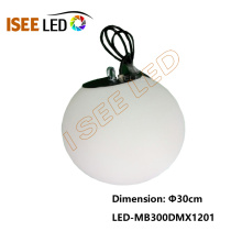 Bola DMX512 do diodo emissor de luz do RGB da cor completa programável