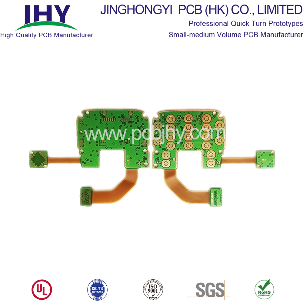 ENIG Customized PI Rigid Flex PCB