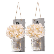 Decorative candle wall sconces