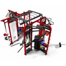 Тренажерный зал использование фитнес Crossfit Synrgy 360