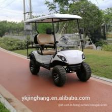 Chariot de golf électrique à siège unique à vendre