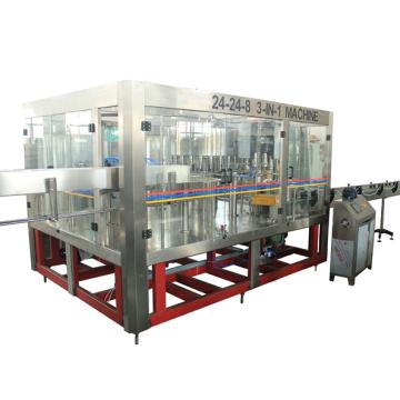 Llenado de agua potable Productoin línea de máquina con 2000-20000bph