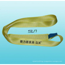 1-100t Synthetic Fibre Endless Type Lifting Webbing Sling