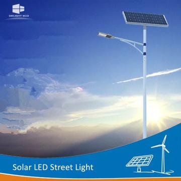 DELIGHT Lumière extérieure solaire à bras unique DEL