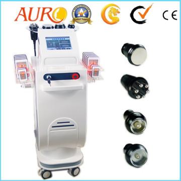 Standing New Design Cavitation Double vacuum Lipo Laser Beauty Machine