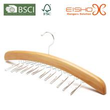 Делюкс деревянный пояс / вешалка для галстука (MP641)