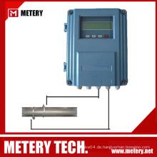 Fester flüssiger Ultraschall-Durchflussmesser MT100FU