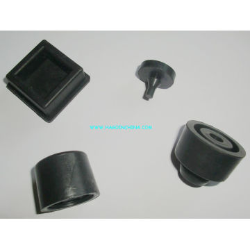 Silicona anti-vibración empotrada, parachoques de goma natural