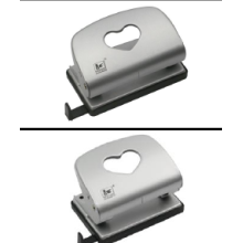 Metal Two-Hole Punch 18 sheets