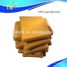 Cire d'abeille pure à 100% utilisée pour les cosmétiques, bougie