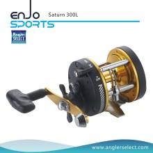 Angler Select Saturn Сильное тело из графита / 1 подшипник / правая ручка Морская рыбалка Троллинговая катушка с катушкой для захвата (Saturn 300L)