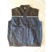 Customer Like Material Fabric Working Vest