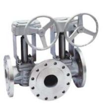 Válvula de enchufe con descarga simple o doble