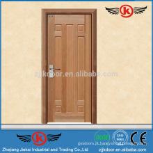JK-w9018 Porta de madeira sólida esculpida com vidro