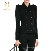 Black Open Cardigan Sweater Womens Coat Sweater
