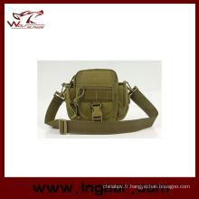 Ceinture tactique militaire sacs Sport Outdoor Sling Bag #046