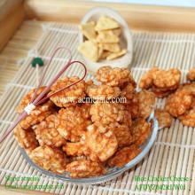 Bocadillos de maíz comida galleta de arroz frito