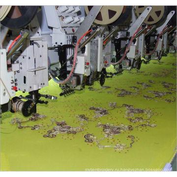 Свертываясь спиралью и машина вышивки sequin