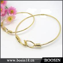 Bracelet en fil extensible Bracelet en fil de fer ajustable Womenbrass